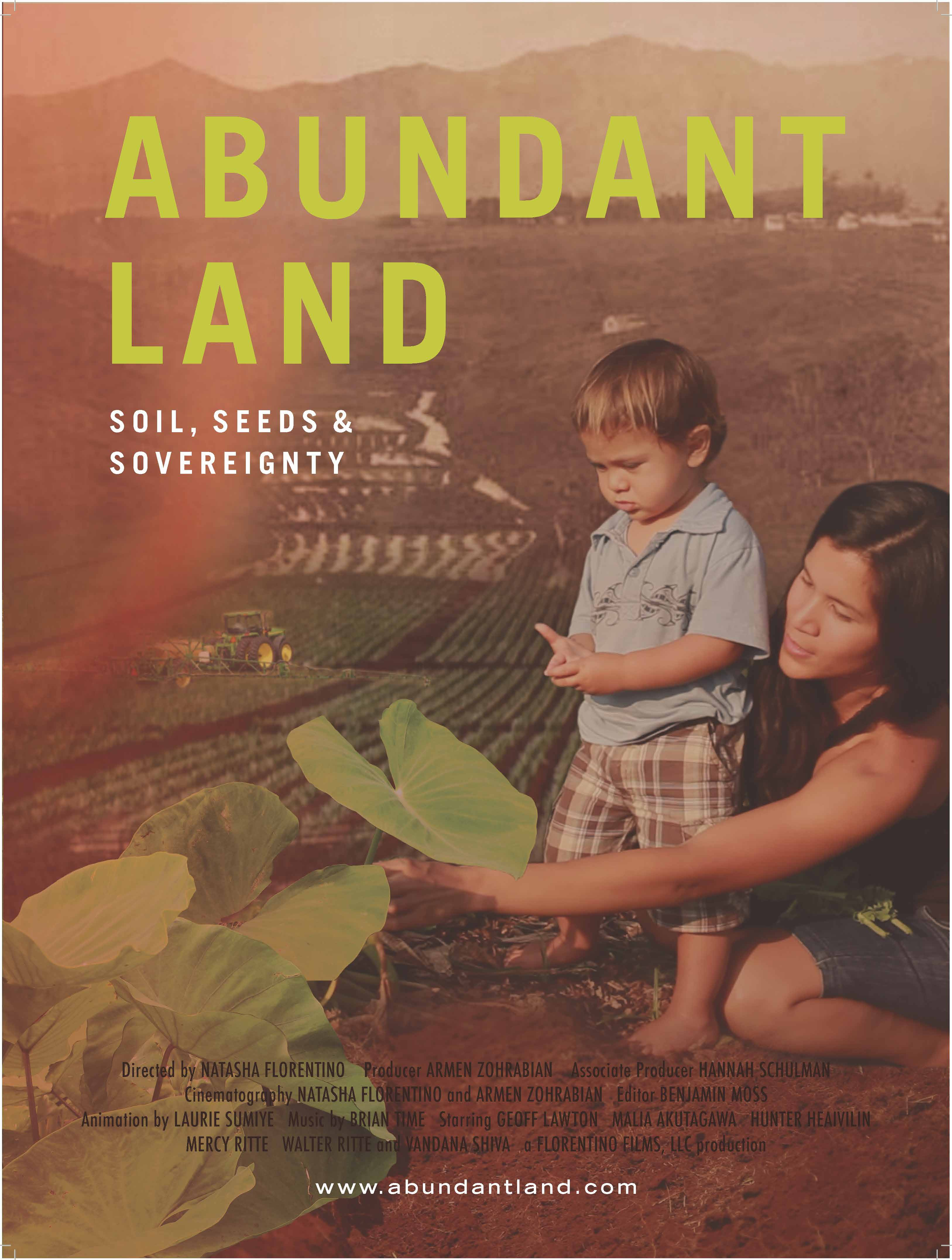 Abundant Land: Soil, Seeds, and Sovereignty